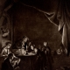 DETAILS 02   The Dropsical Woman (Gerard Dou) - The Night School (Gerard Dou)
