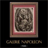 Le Triomphe de Venise (Paul Veronese ou Paolo Veronese) | Héliogravure originale sur papier velin d'après Paolo Veronese. Anonyme. 1910