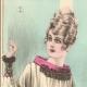 DÉTAILS 01 | Gravure de Mode - Femme Française - Parisienne - France - Quatres Blouses pour le Soir
