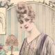 DÉTAILS 02 | Gravure de Mode - Femme Française - Parisienne - France - Quatres Blouses pour le Soir