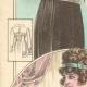 DÉTAILS 05 | Gravure de Mode - Femme Française - Parisienne - France - Quatres Blouses pour le Soir