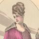 DETAILS 01 | Fashion Plate - French Mode - Parisian Woman - Paris - France - Silk - Dress for the Autumn
