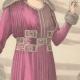 DETAILS 02 | Fashion Plate - French Mode - Parisian Woman - Paris - France - Silk - Dress for the Autumn
