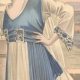 DETAILS 02 | Fashion Plate - French Mode - Parisian Woman - Paris - France - A Nice Dress for the Countryside
