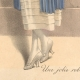 DETAILS 04 | Fashion Plate - French Mode - Parisian Woman - Paris - France - A Nice Dress for the Countryside