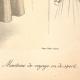 DÉTAILS 06 | Gravure de Mode - Femme Française - Parisienne - France - Manteau de Voyage ou de Sport