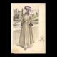 DÉTAILS 07 | Gravure de Mode - Femme Française - Parisienne - France - Manteau de Voyage ou de Sport