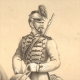 DÉTAILS 04   Uniforme - Armée Française sous la Restauration - Troupes à Cheval de la Garde Royale - Cavalerie Légère - Chasseur à Cheval