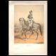 DÉTAILS 08   Uniforme - Armée Française sous la Restauration - Troupes à Cheval de la Garde Royale - Cavalerie Légère - Chasseur à Cheval