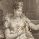 DÉTAILS 03   Portrait de l'Impératrice Marie-Louise d'Autriche - Epouse de Napoléon (1791-1847)