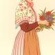 DÉTAILS 02 | Costumes Régionaux Français - Traditions et Folklore - Régions de France - Lorraine - Nancy