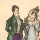DETAILS 01 | French Fashion History - Costumes of Paris - 19th Century - XIXth Century - Costumes for the Ball (1811-1812)