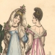 DETAILS 02 | French Fashion History - Costumes of Paris - 19th Century - XIXth Century - Costumes for the Ball (1811-1812)