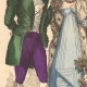 DETAILS 03 | French Fashion History - Costumes of Paris - 19th Century - XIXth Century - Costumes for the Ball (1811-1812)