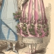 DETAILS 05 | French Fashion History - Costumes of Paris - 19th Century - XIXth Century - Costumes for the Ball (1811-1812)