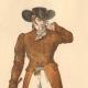 DETAILS 01   French Fashion History - Costumes of Paris - 19th Century - XIXth Century - Chapeau en Bateau - Capote de Percale - Sunshade - Culotte de Casimir (1810-1812)