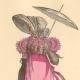 DETAILS 02   French Fashion History - Costumes of Paris - 19th Century - XIXth Century - Chapeau en Bateau - Capote de Percale - Sunshade - Culotte de Casimir (1810-1812)