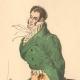 DETAILS 03   French Fashion History - Costumes of Paris - 19th Century - XIXth Century - Chapeau en Bateau - Capote de Percale - Sunshade - Culotte de Casimir (1810-1812)