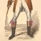 DETAILS 04   French Fashion History - Costumes of Paris - 19th Century - XIXth Century - Chapeau en Bateau - Capote de Percale - Sunshade - Culotte de Casimir (1810-1812)