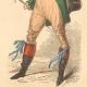 DETAILS 06   French Fashion History - Costumes of Paris - 19th Century - XIXth Century - Chapeau en Bateau - Capote de Percale - Sunshade - Culotte de Casimir (1810-1812)