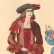 DÉTAILS 01   Histoire de la Mode Française - Costumes de Paris - 17ème Siècle - XVIIeme Siècle - Louis XIV - Seigneur - Petit Abbé - Officier - Riche Bourgeois