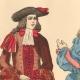 DÉTAILS 03   Histoire de la Mode Française - Costumes de Paris - 17ème Siècle - XVIIeme Siècle - Louis XIV - Seigneur - Petit Abbé - Officier - Riche Bourgeois
