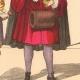 DÉTAILS 05   Histoire de la Mode Française - Costumes de Paris - 17ème Siècle - XVIIeme Siècle - Louis XIV - Seigneur - Petit Abbé - Officier - Riche Bourgeois
