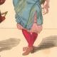 DÉTAILS 06   Histoire de la Mode Française - Costumes de Paris - 17ème Siècle - XVIIeme Siècle - Louis XIV - Seigneur - Petit Abbé - Officier - Riche Bourgeois