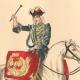 DÉTAILS 01   Histoire de la Mode Française - Costumes de Paris - 17ème Siècle - XVIIeme Siècle - Louis XIV - Timbalier - Tambour à Cheval