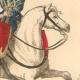 DÉTAILS 03   Histoire de la Mode Française - Costumes de Paris - 17ème Siècle - XVIIeme Siècle - Louis XIV - Timbalier - Tambour à Cheval