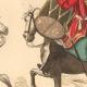DÉTAILS 04   Histoire de la Mode Française - Costumes de Paris - 17ème Siècle - XVIIeme Siècle - Louis XIV - Timbalier - Tambour à Cheval