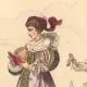 DÉTAILS 02 | Histoire de la Mode Française - Costumes de Paris - 17ème Siècle - XVIIeme Siècle - Louis XIII - Noblesse - Page - Avant l'Edit de Réforme de 1633