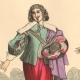 DÉTAILS 02   Histoire de la Mode Française - Costumes de Paris - 17ème Siècle - XVIIeme Siècle - Louis XIII - Noblesse - Après l'Edit de Réforme de 1633