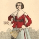 DÉTAILS 03   Histoire de la Mode Française - Costumes de Paris - 17ème Siècle - XVIIeme Siècle - Louis XIII - Noblesse - Après l'Edit de Réforme de 1633