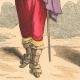 DÉTAILS 05   Histoire de la Mode Française - Costumes de Paris - 17ème Siècle - XVIIeme Siècle - Louis XIII - Noblesse - Après l'Edit de Réforme de 1633