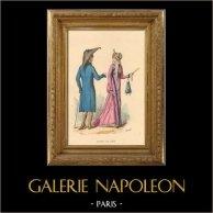 Histoire de la Mode Française - Costume et Uniforme - 19ème Siècle - XIXeme Siècle - Modes de 1804