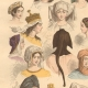 DETAILS 03   French Fashion History - Hairstyle - Headdress - Hat - 15th/16th Century - XVth/XVIth Century - Woman
