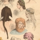 DETAILS 04   French Fashion History - Hairstyle - Headdress - Hat - 15th/16th Century - XVth/XVIth Century - Woman