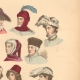 DETAILS 02 | French Fashion History - Hairstyle - Headdress - Hat - 14th/15th Century - XIVth/XVth Century - Men