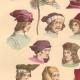 DETAILS 03 | French Fashion History - Hairstyle - Headdress - Hat - 14th/15th Century - XIVth/XVth Century - Men