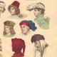 DETAILS 04 | French Fashion History - Hairstyle - Headdress - Hat - 14th/15th Century - XIVth/XVth Century - Men