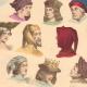 DETAILS 05 | French Fashion History - Hairstyle - Headdress - Hat - 14th/15th Century - XIVth/XVth Century - Men