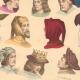 DETAILS 06 | French Fashion History - Hairstyle - Headdress - Hat - 14th/15th Century - XIVth/XVth Century - Men