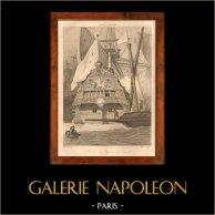 Belonave - Navio de Guerra Francês - Galeão de Luis XIV de França (Século 17)