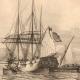 DETTAGLI 02 | Battello - Barca a vela - Nave - Bastimento Francese in Mediterraneo