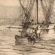 DETTAGLI 05 | Battello - Barca a vela - Nave - Bastimento Francese in Mediterraneo