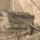 DETAILS 03   Naval Battle - Shipwreck - Boat - Sailboat - Vassel - French Ships