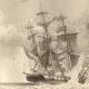DÉTAILS 04 | Tempête - Naufrage - Bateau - Voilier - Navire - Vaisseau Français Pris dans une Trombe d'Eau