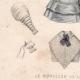 DETAILS 05 | French Fashion Plate - French Fashion Print - Paris - Le Moniteur de la Mode - 20 July 1846 - 20 Dress and Hat