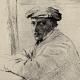 DETAILS 02 | Impressionism - Portrait of the Engraver Joseph Tourny (Edgar Degas - 1856)